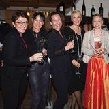 Beate Hafeneder (G+J), Sonja Piller (HSE 24), Carola Wargel (G+J), Andrea Kästel (Sisley), Daniela Bermadinger (Salzburger Land), Nicole Nitschke (Shiseido) und Saskia Griesbach (G+J)
