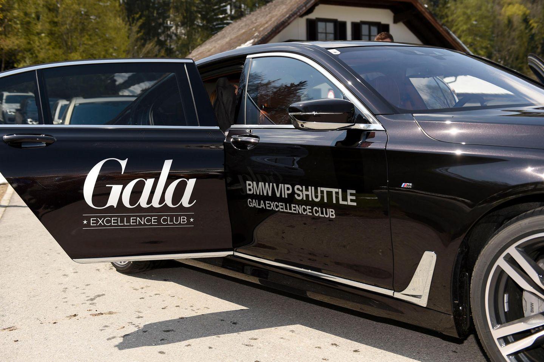 """Mit dem VIP-Shuttle-Service geht es in 7er BMWs zur """"BMW M Driving Experience"""" auf dem Salzburgring."""