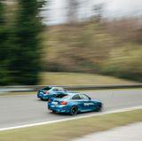Hier liefern sich die BMW M2-Modelle ein spannendes Rennen.