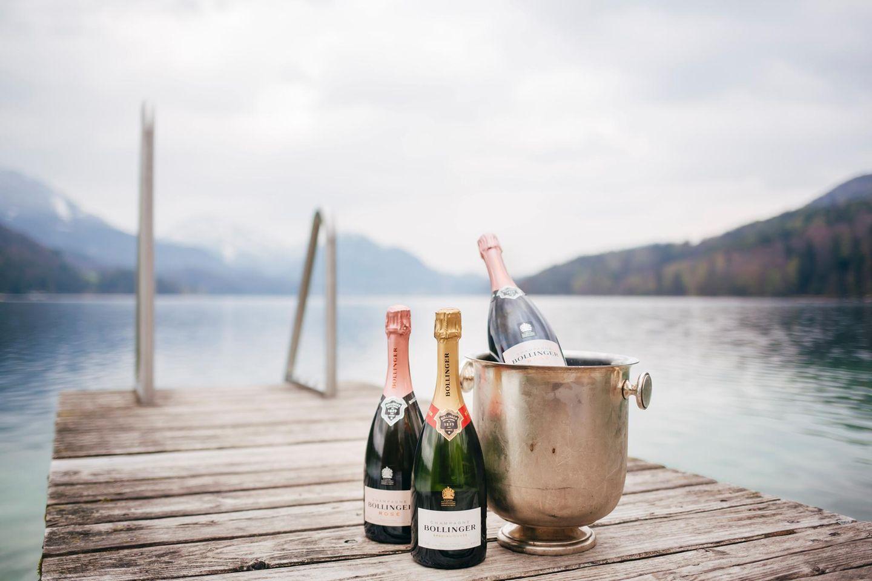WeinArt begleitete beide Abende mit ausgewählten Weinen und Champagner von Bollinger.