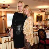 Am Samstag lädt GALA-Chefredakteurin Anne Meyer-Minnemann (rechts PR-Unternehmerin Nicole Weber) zum Aperitif im Schloss-Restaurant.