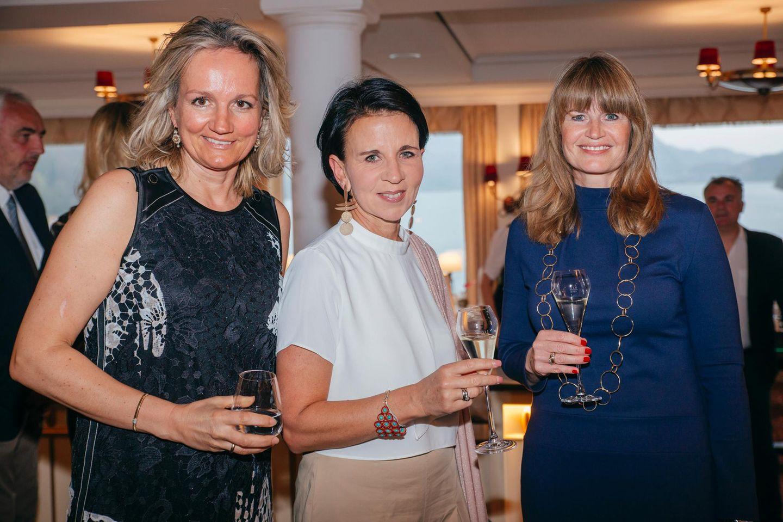 Ulrike Ehrlich (Sportalm), Anja Gasteiger (Lohmann und Rauscher) und Petra Kruse (pilot Hamburg)