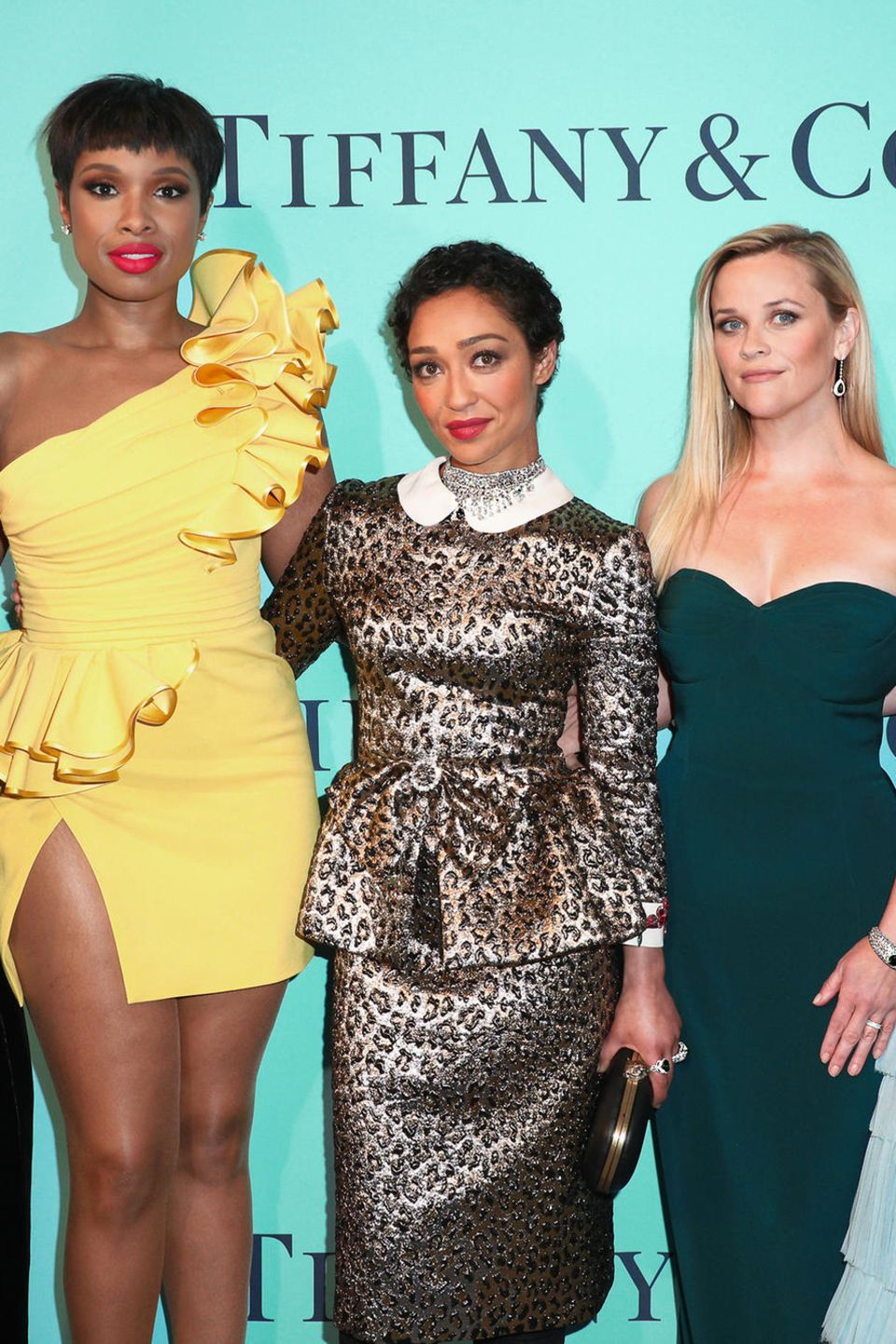 "21. April 2017  Frauenpower: Claire Danes, Jennifer Hudson, Ruth Negga, Reese Witherspoon und Haley Bennett kommen bei der ""Tiffany & Co. 2017 Blue Book Collection""-Gala in New York zusammen."