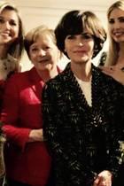 25. April 2017  Gruppen-Selfie vom W20-Summit mit mächtigen Frauen: Königin Maxima, Bundeskanzlerin Angela Merkel, Ivanka Trump und IWF-Chefin Christine Lagarde diskutieren über Berufschancen von Frauen.