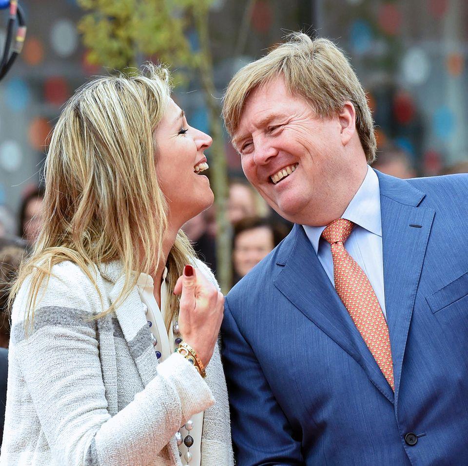 Königin Máxima + König Willem-Alexander