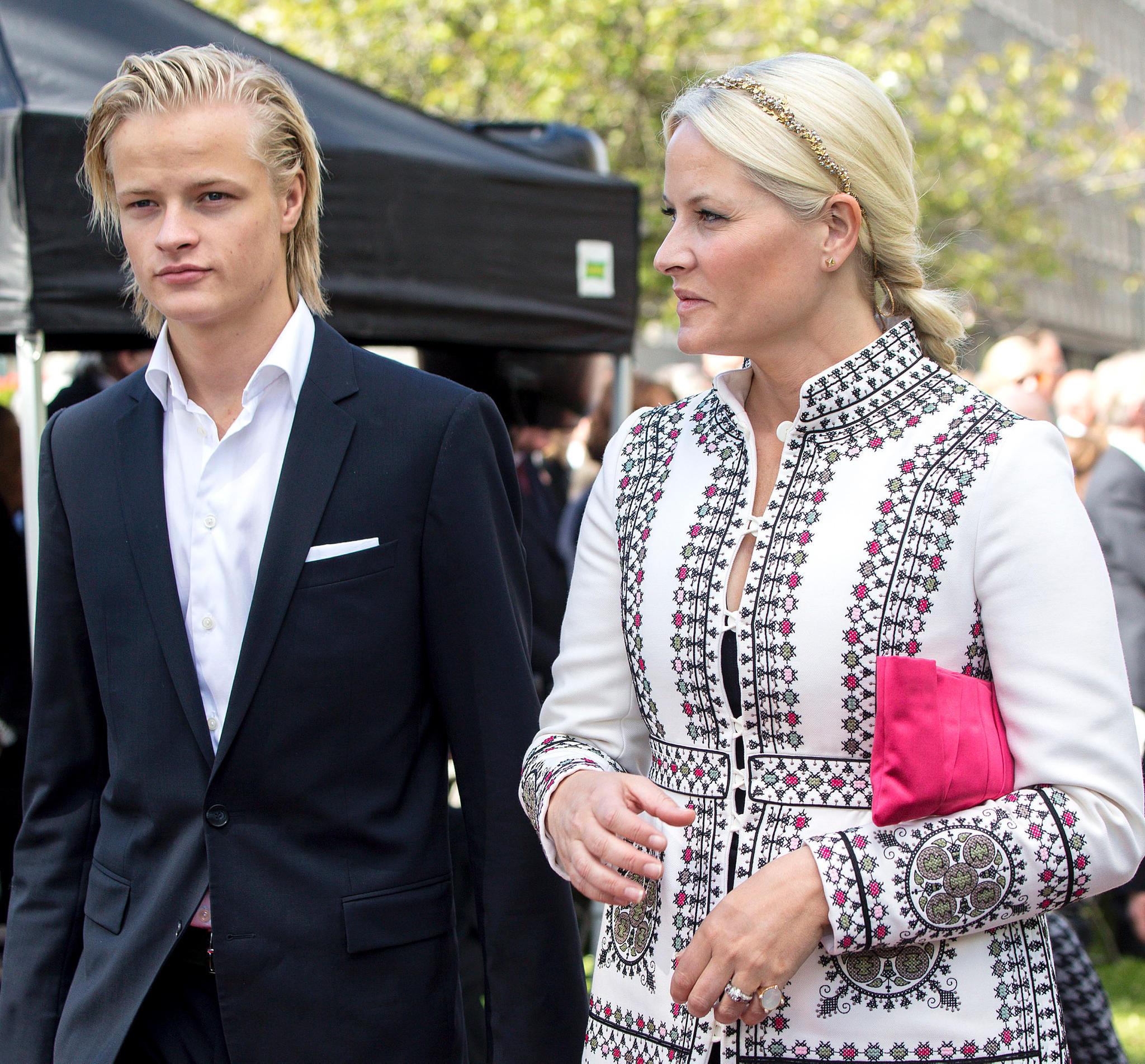 Marius Borg Høiby + Prinzessin Mette-Marit