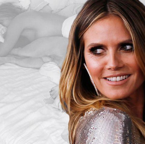 Heidi Klum: Im Bett mit dem Topmodel
