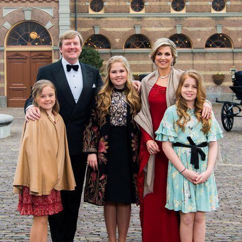 Was für eine tolle Familie: Zum 50. Geburtstag von König Willem-Alexander veröffentlicht der Hof dieses offizielle Familienfoto der Royals.