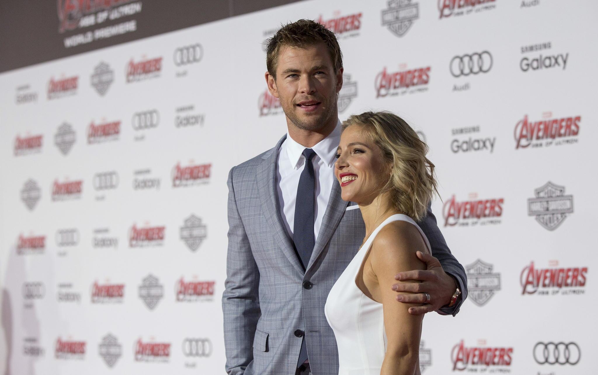 Chris Hemsworth, Elsa Pataky