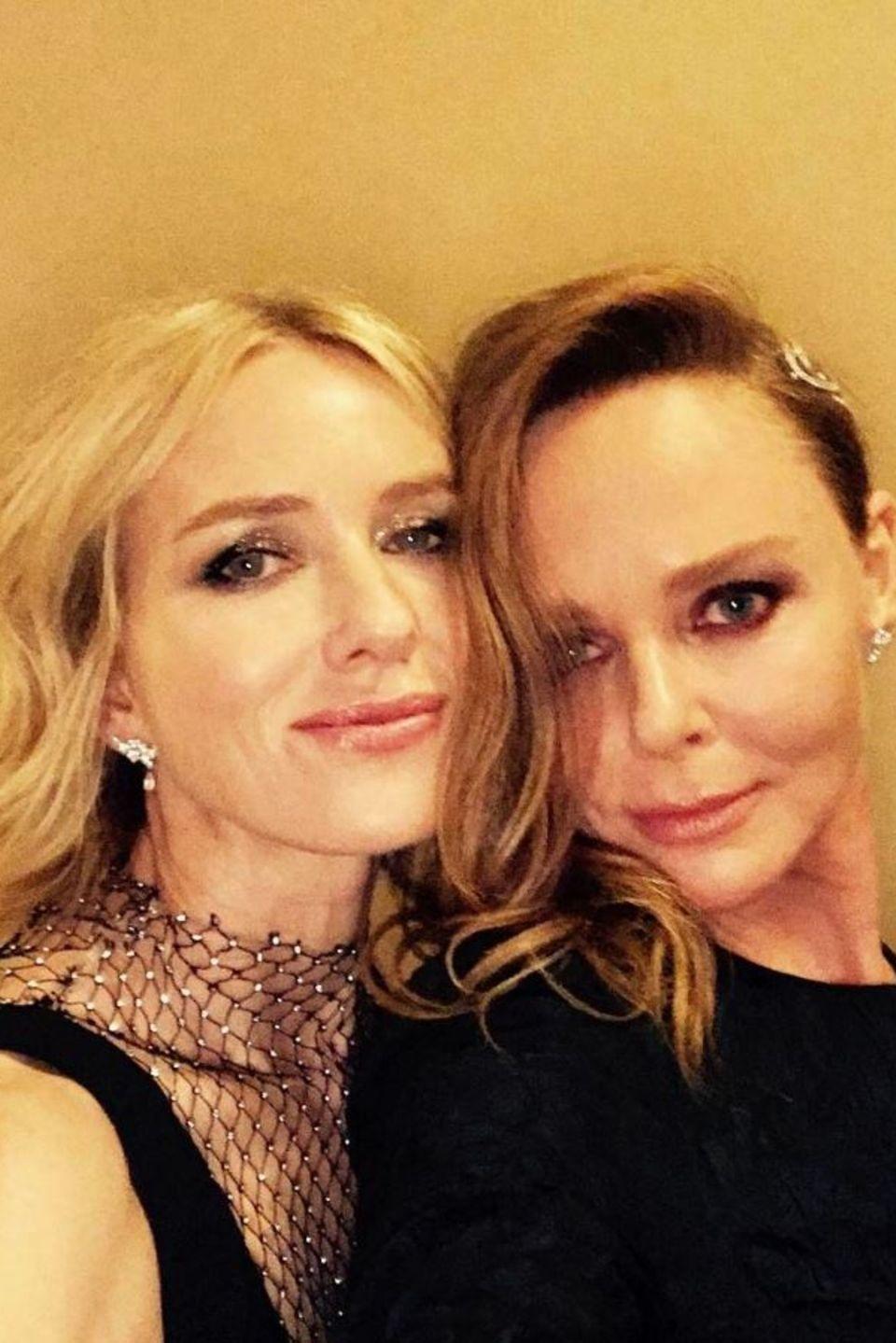 """Naomi Watts und Stella McCartney   """"Die wundervolle Stella McCartney"""" - postet Schauspielerin Naomi Watts über die Modedesignerin."""