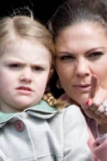 Prinzessin Estelle und Kronprinzessin Victoria.
