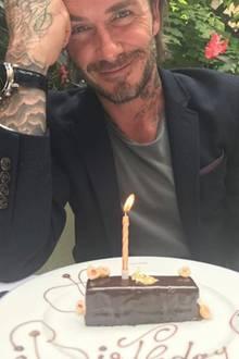 """2. Mai 2017  """"Happy Birthday! Wir alle lieben dich sehr"""": Victoria Beckham gratuliert ihrem Mann zum Geburtstag."""