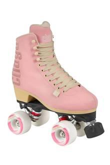 Für Barbie Girls ein Must: Rosa Rollschuhe (mit Stopper!) von Chaya über engelhorn.de