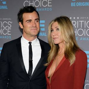 Justin Theroux + Jennifer Aniston