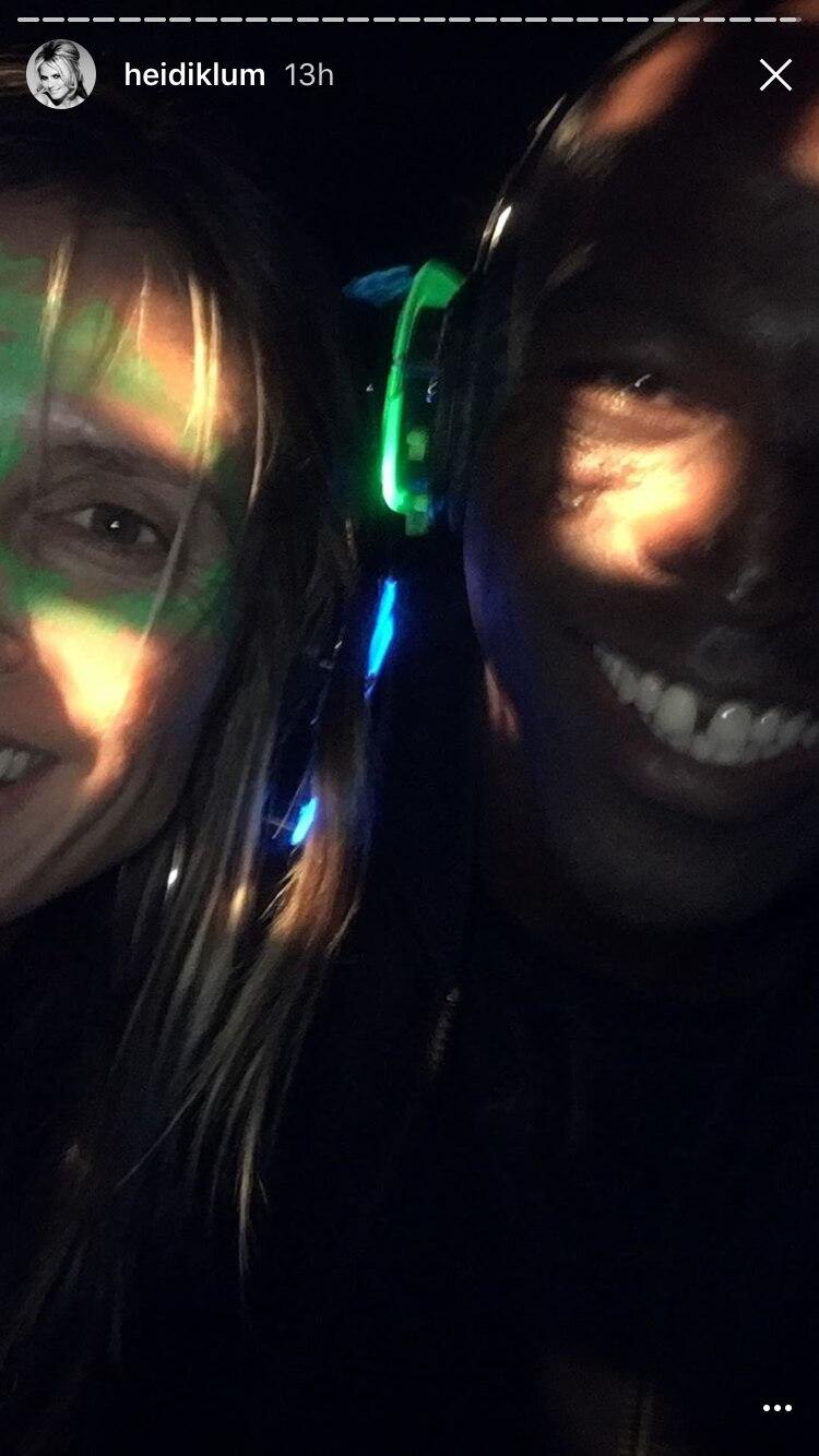Heidi Klum und Ex-Ehemann Seal feiern in einträchtig den 13. Geburtstag ihrer Tochter Leni Klum am 4. Mai 2017.