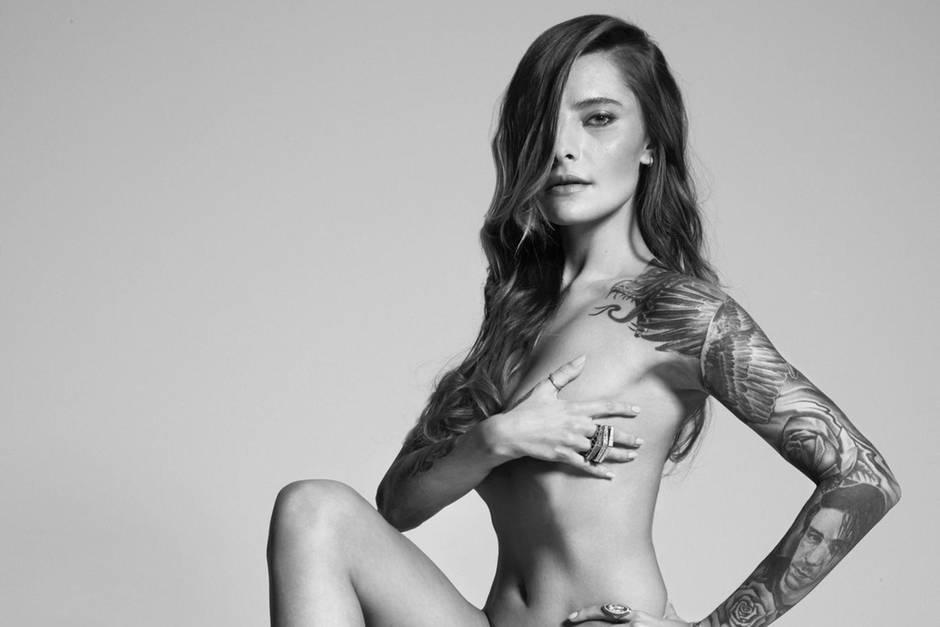 Leute Medien Fernsehen Mode Werbung Deutschland : Sophia Thomalla lässt sich
