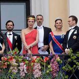 9. Mai 2017  Prinz Carl Philip und Prinzessin Sofia und Prinzessin Victoria und Prinz Daniel sind in Oslo dabei, Prinzessin Madeleine fehlt.