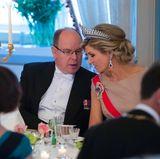 9. Mai 2017  Was Fürst Albert Königin Máxima wohl erzählt hat? Monacos Staatsoberhaupt war ohne seine Fürstin angereist.