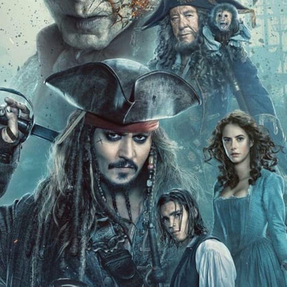 """Pirates of the Carribean - Salazars Rache"" (Plakatmotiv)"