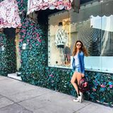 Luxus-Lady Carina verbringt ihre Zeit lieber auf einer anderen Straße. Ihr Lieblingsplatz ist die Melrose Avenue.