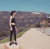 """Von der Villa aus ist es nur ein Katzensprung zu dem weltberühmten """"Hollywood""""-Schriftzug - die perfekte Kulisse für eine Jogging-Strecke."""