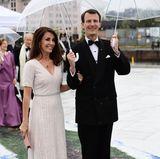 10. Mai 2017: Ankunft zum Galadinner in der Oper  Prinzessin Marie und Prinz Joachim stoßen erst am zweiten Tag der Feierlichkeiten zu der Geburtstagsgesellschaft.