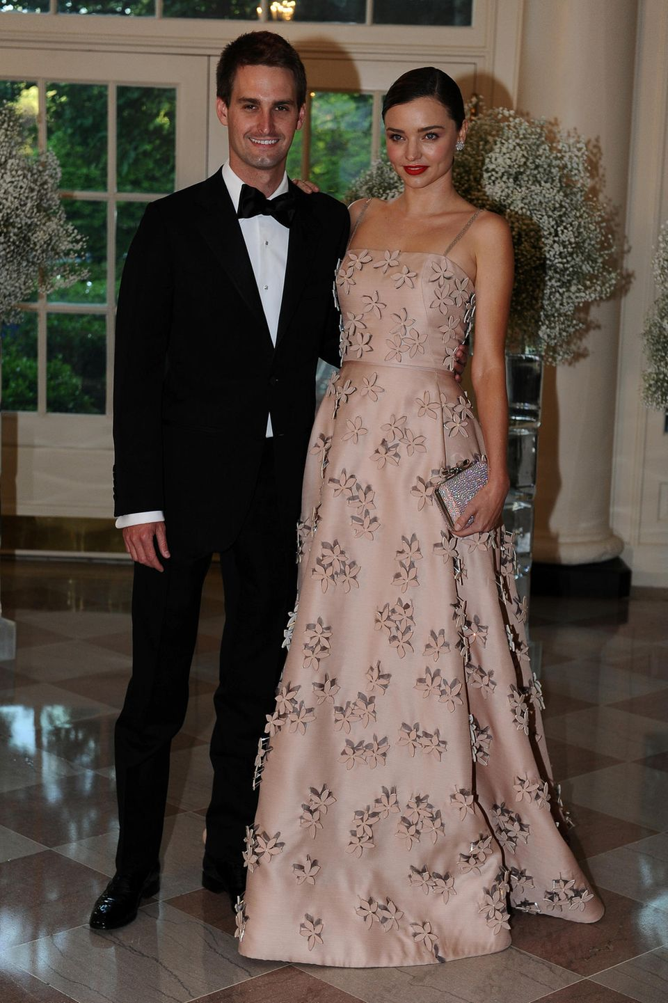 Evan Spiegel + Miranda Kerr