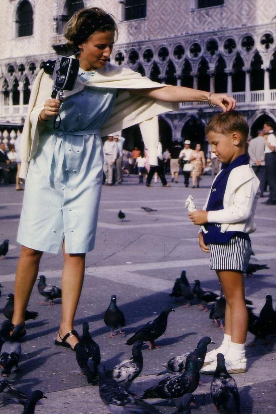 """Ein tolles Foto hat GNTM-Juror Thomas Hayo gepostet: """"Meine Mutter war diejenige, die mich ermutigte kreativ zu sein und die meine Liebe zum Film und zur Fotografie erweckte, in meinen jungen Jahren."""""""