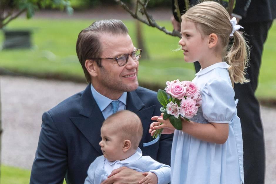 Prinz Daniel, Prinz Oscar, Prinzessin Estelle