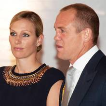 Zara Phillips + Mike Tindall