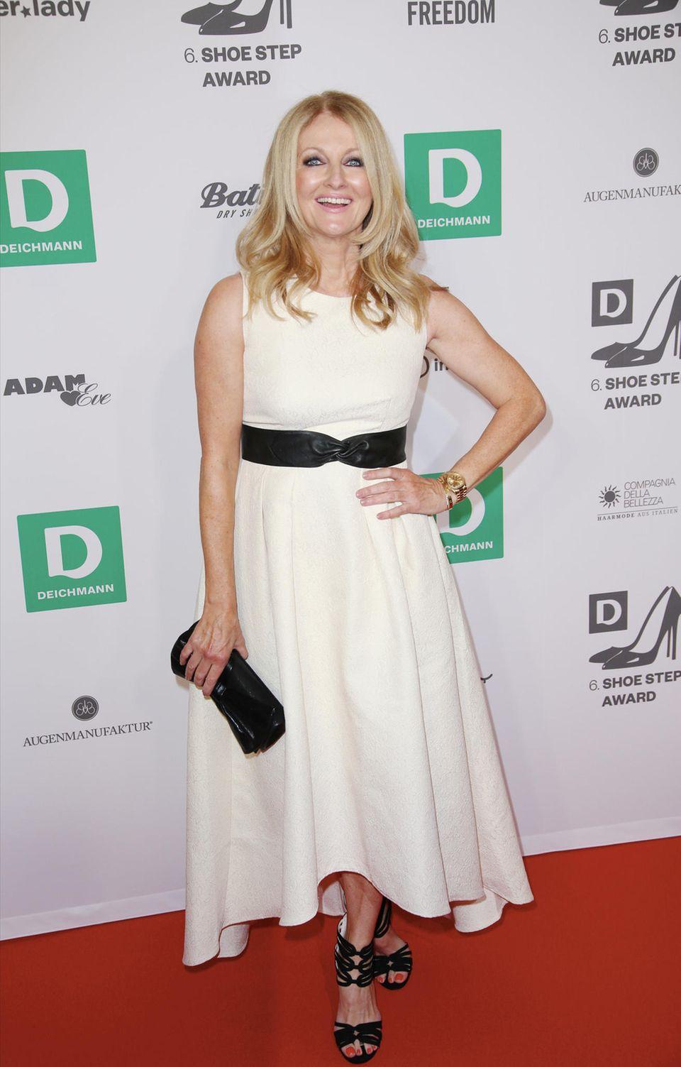 Frauke Ludowig moderiert auch dieses Jahr die Preisverleihung mit Bravour.