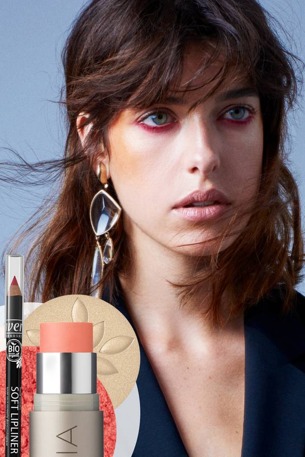 Glam im Blick - Organic Make-up