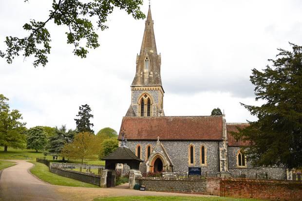 In der kleinen St. Mark's Church in Englefield werden sich Pippa und James das Ja-Wort geben.
