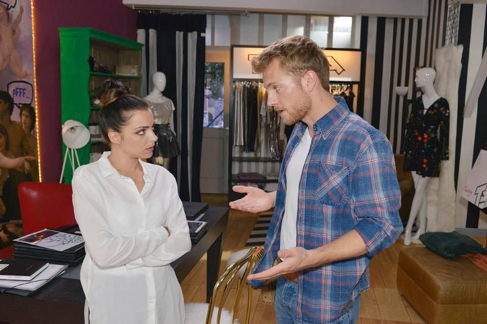 Anne Menden und Niklas Osterloh alias Emily Höfer und Paul Wiedmann in GZSZ
