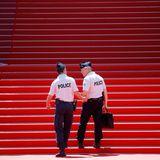 Während der Filmfestspiele führt die Polizei strenge Sicherheitskontrollen durch.