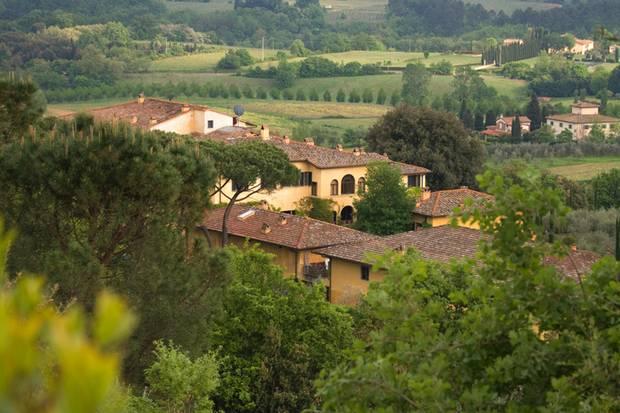 """Weingut """"Il Palagio""""in der Toskana"""