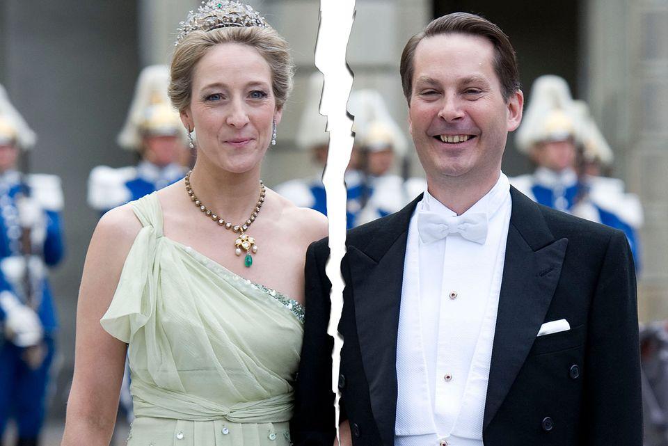 Prinzessin Alexandra + Graf Jefferson
