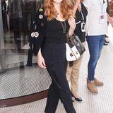 Ebenfalls in Schwarz, aber etwas lässiger als Julianne Moore ist Jessica Chastain in Cannes unterwegs.