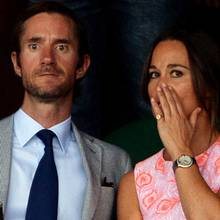 James Matthews und Pippa Middleton.