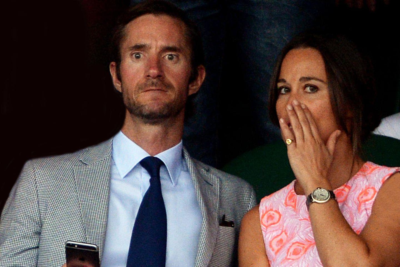 James Matthews und Pippa Middleton.