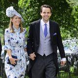 Auch Pippas Verflossener Charlie Gilkes ist offenbar eingeladen. Doch von ihm geht auch keine Gefahr aus: Er ist selbst glücklich verheiratet mit Ehefrau Anna Gilkes.
