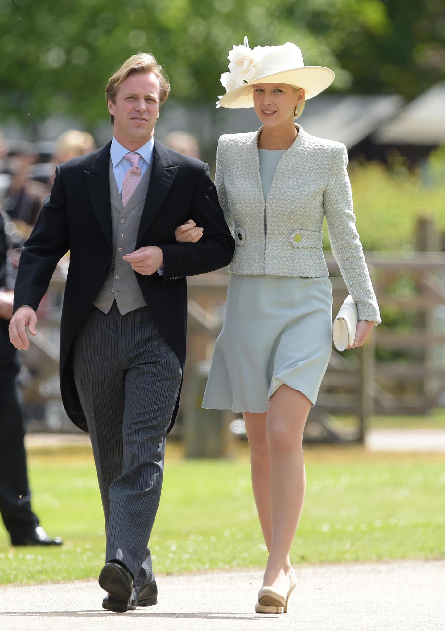 Tom Kingston kommt mit Lady Gabriella Windsor zur Hochzeit von seiner Ex-Freundin Pippa
