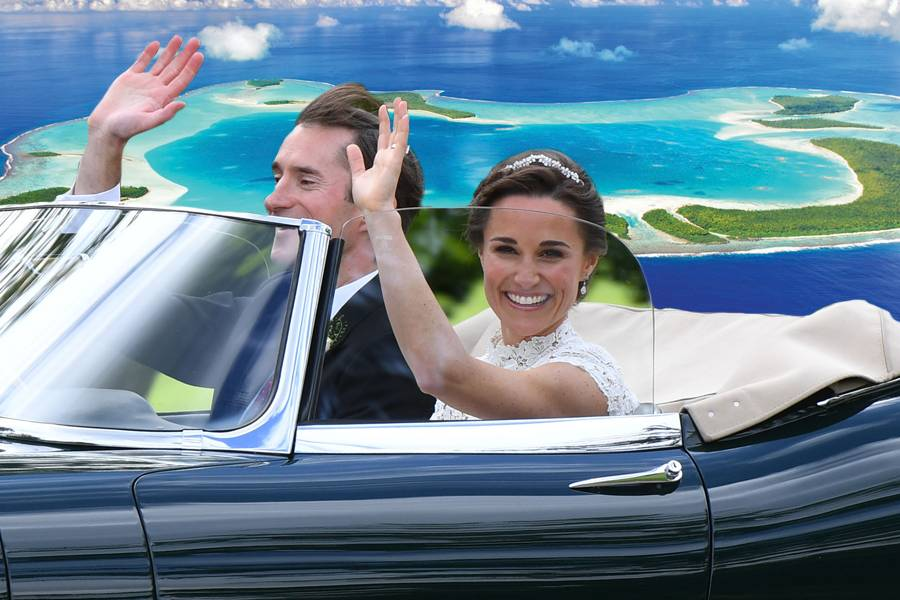 Pippa Middletons Hochzeit hat begonnen
