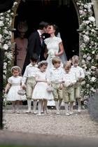 James Matthews und Pippa Middleton sind verheiratet
