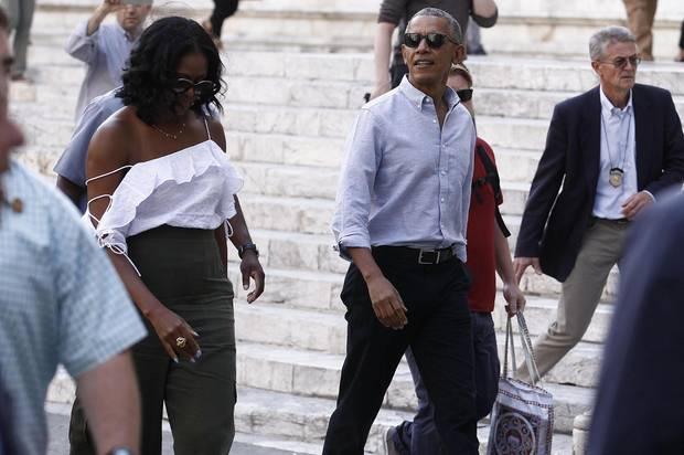 22. Mai 2017  In der italienischen Stadt Siena geht ein ganz besonderes Paar auf Sightseeingtour: Michelle und Barack Obama...