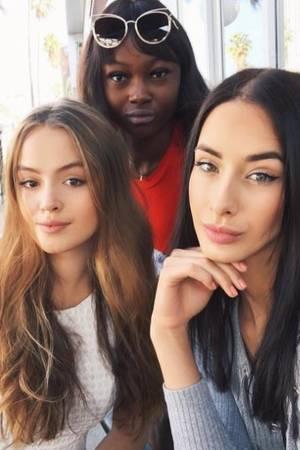 Brenda mit Soraya und Leticia