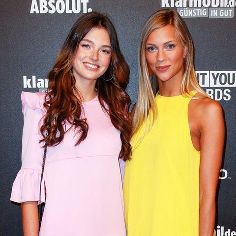 Céline und Serlina.