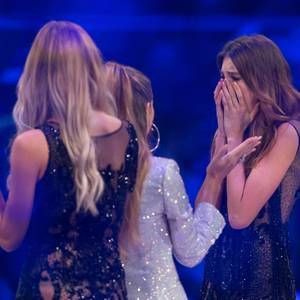 """Siegerin Céline Bethmann beim Finale der 12. Staffel von """"Germany's next Topmodel 2017"""""""