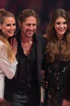 "Heidi Klum, Thomas Hayo, ""Germany's next Topmodel"" Céline und Michael Michalsky"