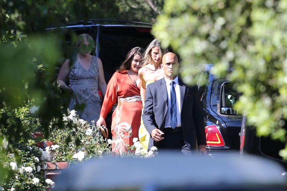 Gäste der Hochzeit von Miranda Kerr und Evan Spiegel.